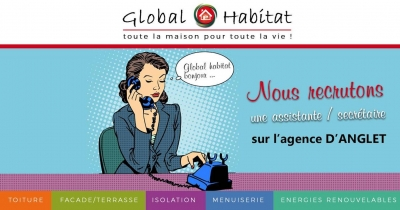 RECRUTEMENT I ASSISTANTE / SECRETAIRE (ANGLET)