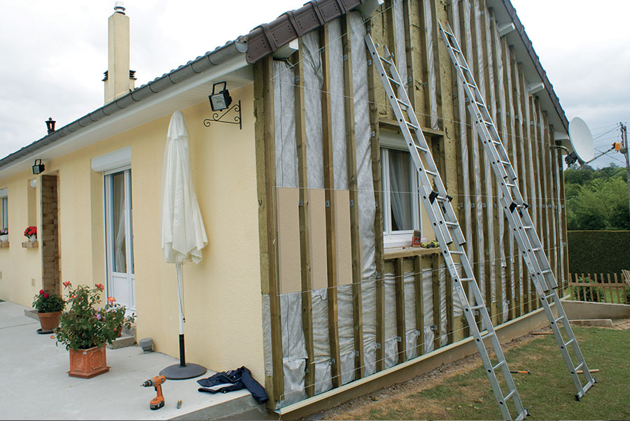 isolation des murs par l ext 233 rieur economies d 233 nergies global habitat