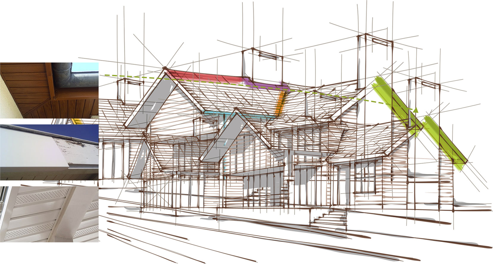 les accessoires de toiture toiture global habitat. Black Bedroom Furniture Sets. Home Design Ideas